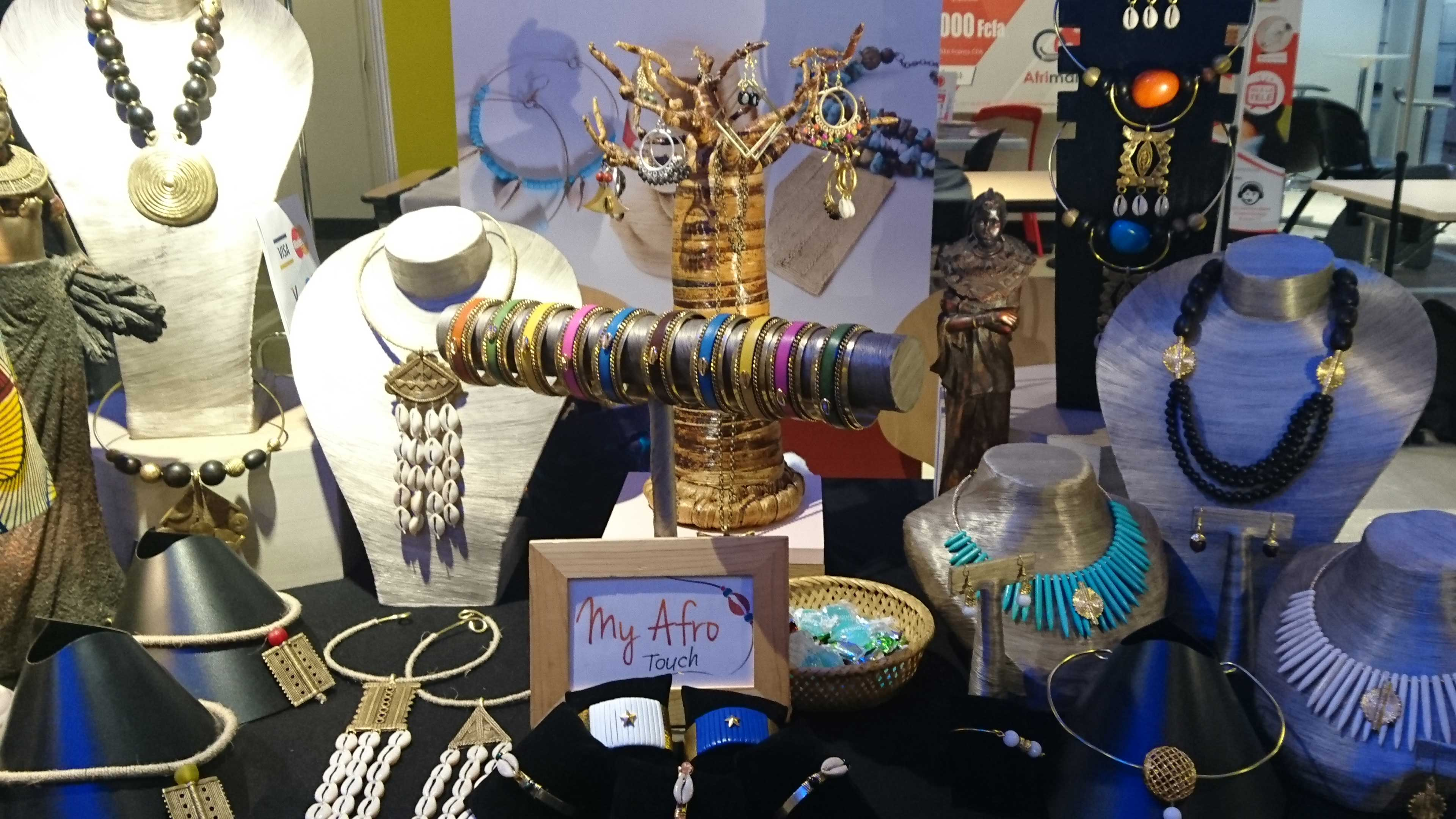 stand de bijoux ethniques My Afro Touch
