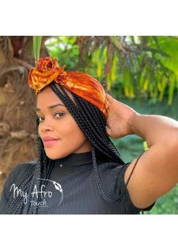 store various colors best cheap headband en tissus batik avec fil de métal incorporé