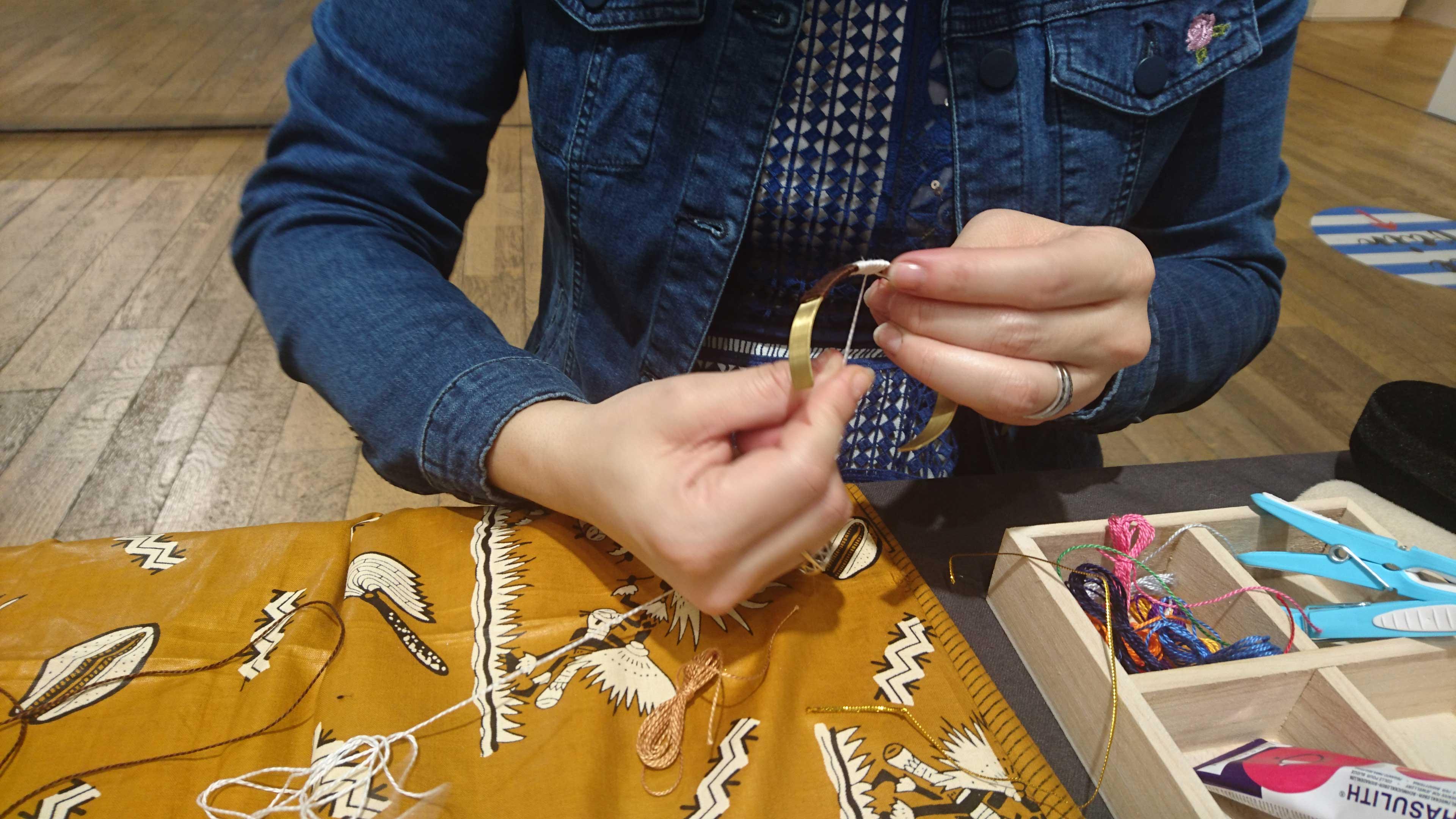 Atelier créatif Bijoux DIY organisé par My AFro Touch
